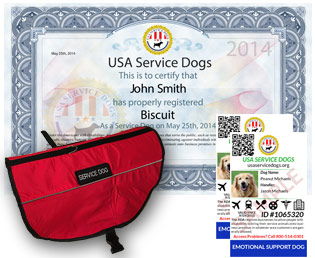 Emotional Support Dog Registration Usa Service Dogs