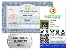 how to register my dog as an emotional support dog