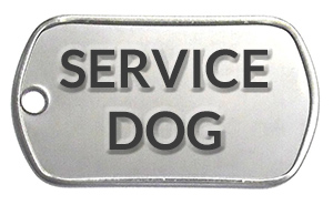 Service Dog Tag for sale